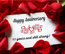 10th Anniversary Wishes Wedding Anniversary Quotes