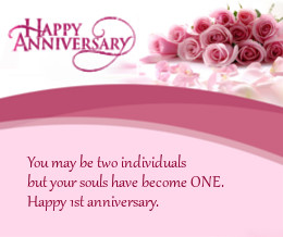 Marriage Anniversary Is Indeed Special Occasion For Every Especially If It First Signifies The Year Of Love And